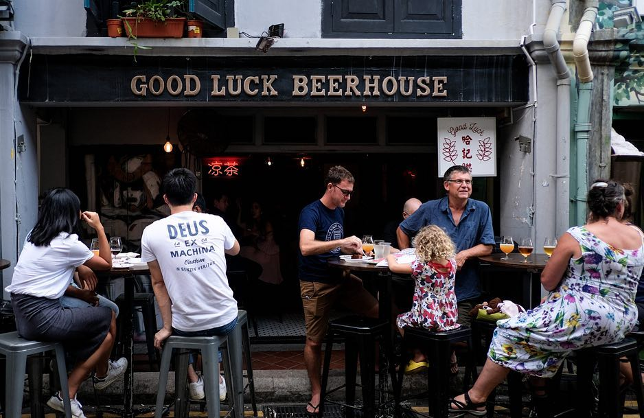 Good Luck Beerhouse Haji Lane