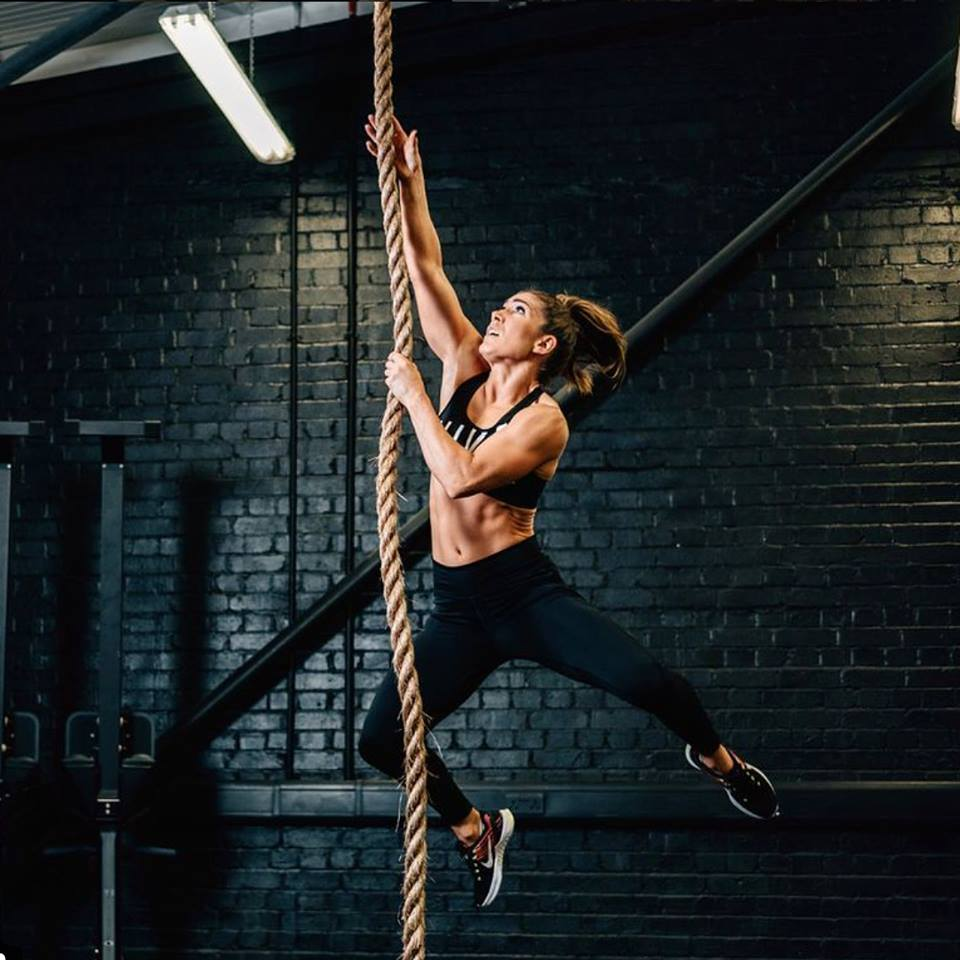 Girl doing CrossFit Singapore